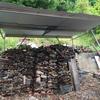 薪ストーブライフ 薪小屋をDIY