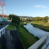 下松市 末武大橋付近から見た末武川
