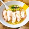 塩生姜らー麺専門店MANNISH亀戸店@亀戸 生姜塩らー麺、よだれ鶏ご飯