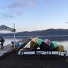 (過去釣行からの今年の様子)ワカサギドーム船に乗ってきた⛴