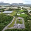 白水原水調整池1号池(沖縄県石垣島)