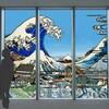 「天空の影絵~北斎の世界~」がスタート。あべのハルカス展望台が北斎イメージの影絵作品で彩られる