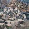 薪ストーブ前史⑬カラカラの広葉樹の薪割り