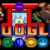 今日のGoogleのロゴは(6ω6)