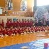 普代中の60人による陶芸教室が開催されました。