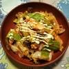サラダチキンと混ぜるだけ!『茹で鶏のキムチ和えサラダ』
