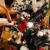 店内はクリスマスムード