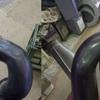 チタンのエキゾースト修理
