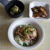 38冊目『あえ麺100』、『らくつまみ100』から初回は納豆おろしと塩昆布など