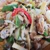 No.25 青椒肉絲から春巻き