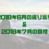 【2018年6月】の振り返りと2018年7月の目標