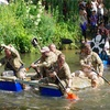 イギリスのちょっと変わった観光~わが町Guildfordのおバカな祭り〜Raft Race