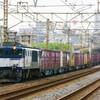 4月24日撮影 東海道線 平塚~大磯間 貨物列車① ロクヨン ゼロロク 金太郎