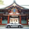 朝6時前の日枝神社
