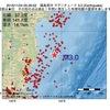 2016年11月24日 05時26分 福島県沖でM3.0の地震