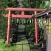 ビルに囲まれていながら自然のある大栄稲荷神社へ参拝