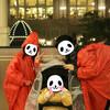 【TDS】子連れの雨対策:ベビーカー用レインカバーの欠点を補う ありもの知恵!?