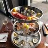 ルイビルのリバーサイドのレストラン River House Restaurant and Raw Bar で海鮮食材を堪能。ロブスターやストーンクラブも。パスタも最高でした。