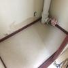 トイレクロス貼った・便器、シャワートイレ設置
