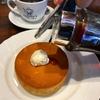 星乃コーヒーで楽しむ窯焼きスフレパンケーキ。 星乃コーヒー西宮店