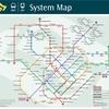 シンガポール 地下鉄(MRT)路線図
