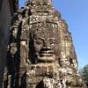 カンボジアのシェムリアップ観光一日目その②、プノンバケンの丘からの夕日鑑賞とか