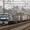 10月3日撮影 東海道線 平塚~大磯間 貨物列車撮影 1155ㇾ 5075ㇾ 2079ㇾ