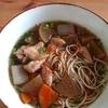鶏大根そば、冷凍食品の記事とメシ通新作「ハリハリ鍋」