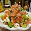 【レシピ】サーモンとアボカドの柚子胡椒めんつゆ漬け