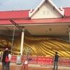 7番 ピンクの屋根に金色の寝釈迦仏のコントラストが目をひくお寺