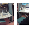 集中力がまるでない大学院生は、机を2つ使って集中している