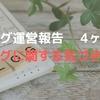 【ブログ運営報四ヶ月目】 1ヶ月で2記事目!?  ブログに関する気づきなど