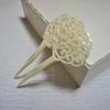 【簪/かんざし】唐草模様の透かし彫りバチ型かんざし