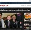 授業に使えるかも?: アメリカの小学校での、メディアリテラシーを教える授業を取り上げていたニュース2本