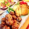 青トマトのフライ、なまり節の蓮根ボール、薩摩芋生地のピザ