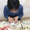 立体キューブの絵画教室、息子は楽しんでくれるか?