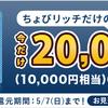 【期間限定】クレジットカード発行で9,000マイル相当のポイントゲットできます【ちょびリッチ】