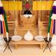 ガラス宮として唯一の天井、背面、床なども総檜のガラス宮 本雅三社