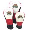 新製品ゴルフカリフォルニアの高品質革製ヘッドカバーが新発売です。