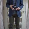 マークジェイコブスのジャケットとアルテアのベストを使ったコーディネート