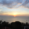 最終日は美しい朝焼けで始まった。ダム市場とお土産日記 / ベトナム・ニャチャン旅行記12