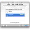 VMware Fusionで Mac OS X 10.9 Mavericks をゲストOSとしてインストール