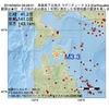 2016年09月04日 09時28分 青森県下北地方でM3.3の地震