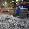 東京の大雪。(積もった)