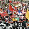 大統領の辞職求めるデモ…ブラジル48都市で