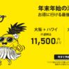 【2017年11月15日まで】スクートがセール!大阪発 シンガポール片道13000円~ ハワイ往復23000円~
