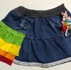 キュアパルフェ風スカートを作ってみました