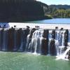 阿蘇山と大野川の力で生み出された名瀑 沈堕の滝(ちんだのたき)