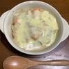 鮭水煮缶のポテトグラタン