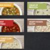 【おすすめ】Tim Hortonsの熱々スープメニュー